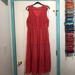 Pink avenue dress